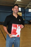 Jeff and CPR kits courtesy of Amerigroup Foundation